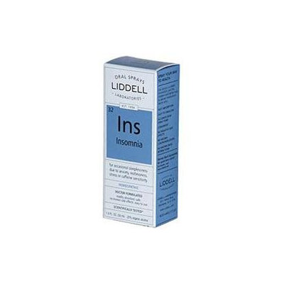 Liddell Laboratories - Ins Insomnia Homeopathic Oral Spray - 1 oz.