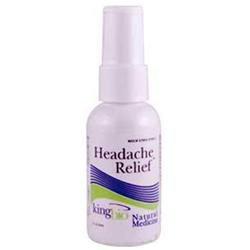 King Bio Natural Medicines Headache Relief 2oz