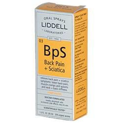 Liddell Laboratories - BpS Back Pain Sciatica Homeopathic Oral Spray - 1 oz.