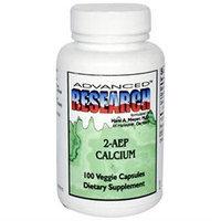 Advanced Research - 2-AEP Calcium - 100 Vegetarian Capsules