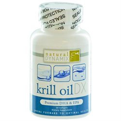 Krill Oil DX, 60 Softgels, Natural Dynamix