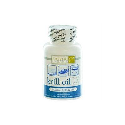 Krill Oil DX, 60 Softgels, Natural Dynamix