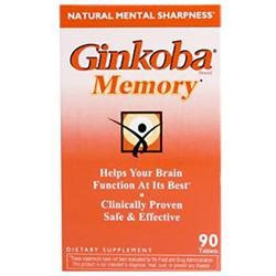 Ginsana Ginkoba Memory - 90 Tablets