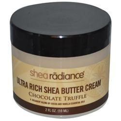 Shea Radiance - Ultra Rich Shea Butter Cream Chocolate Truffle - 2 oz.