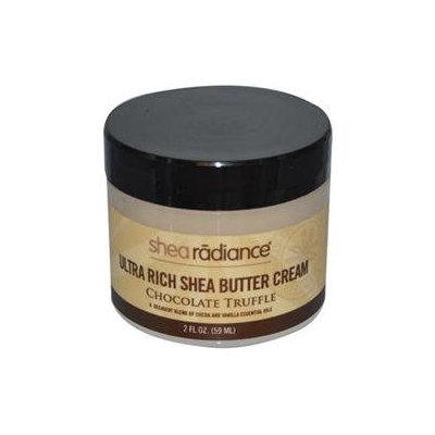 Shea Radiance - Ultra Rich Shea Butter Cream Chocolate Truffle - 2 oz.