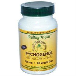 Healthy Origins - Pycnogenol 100 mg. - 60 Vegetarian Capsules