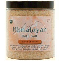 Himalayan Salt 0706507 Aloha Bay Bath Salts Queen of Sheba - 24 oz