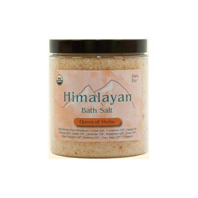 Himalayan Salt 0706507 Aloha Bay Bath Salts Queen of Sheba - 24 oz