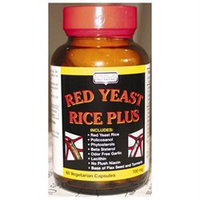 Only Natural Red Yeast Rice Plus - 60 Veggie Capsules