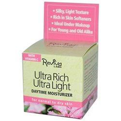 Reviva Labs Ultra Rich Ultra Light Daytime Moisturizer