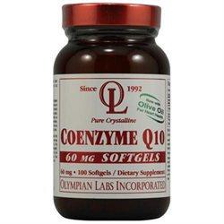 Olympian Labs Coenzyme Q10 60mg, 100 softgels