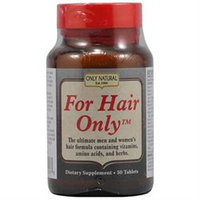 Only Natural Inc. For Hair Only by Only Natural - 50 Tablets