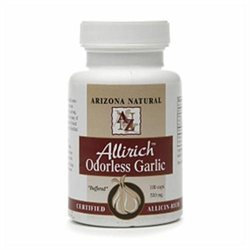 Arizona Natural Resources Allirich Odorless Garlic 500mg Dietary