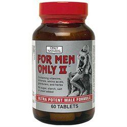 Only Natural For Men Only II 60 tablets