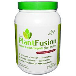 PlantFusion Multi Source Plant Protein, Chocolate Raspberry, 1 lb