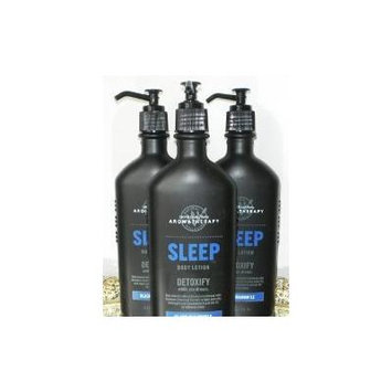 Bath & Body Works Aromatherapy Sleep Detoxify - Black Chamomile Body Lotion - Lot of 3 - 6.5 Oz