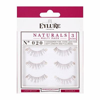 aa0e8ecc19c (Pack of 15 Pairs) Eylure Naturalites #020 False Eyelashes, Black Multi-Pack