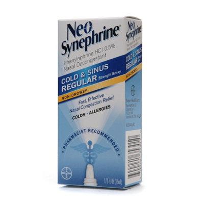 Neo-Synephrine Cold & Sinus Regular Strength Nasal Decongestant Spray