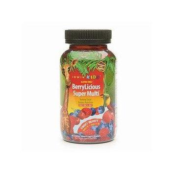 Irwin Naturals Kids BerryLicious Super Multi Soft Chews, Sweet Berry 30 ea