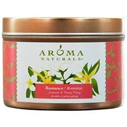 ROMANCE AROMATHERAPY by Romance Aromatherapy ONE 2.5x1.75 inch TIN SOY AROMATHERAPY CANDLE. COMBINES THE ESSENTIAL OILS OF YLANG YLANG & JASMINE TO CREATE PASSION AND ROMANCE. BURNS APPROX. 15 HRS. for UNISEX