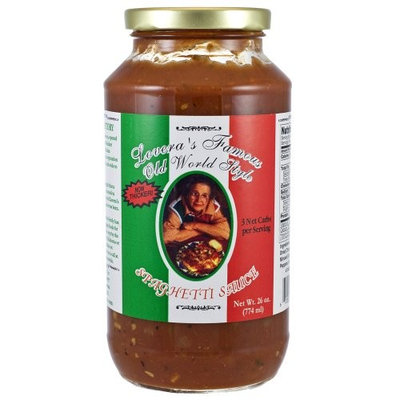 Lovera's Old World Style Spaghetti Sauce - 26oz