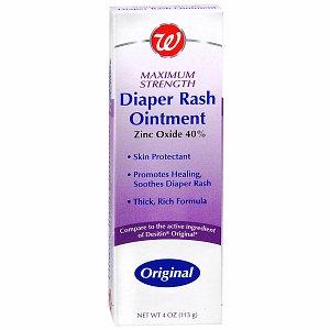 Walgreens Diaper Rash Ointment