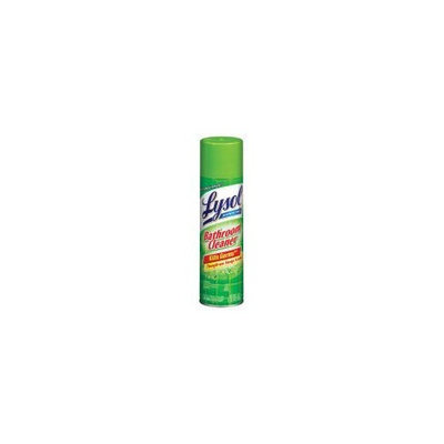 Lysol Bathroom Cleaner Complete Clean Aerosol Sunshine Fresh 24 oz. (Pack of 12)