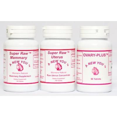 Ovary, Uterus and Mammary Three Pack For Crossdressing and Transgender