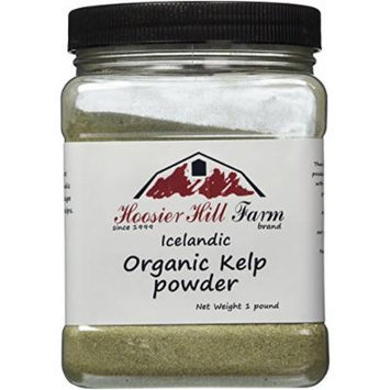 Hoosier Hill Farm Organic Icelandic Kelp Powder, 1lb.