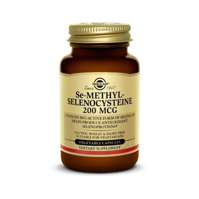 Solgar - Se-Methylselenocysteine 200 mcg Vegetable Capsules - 60