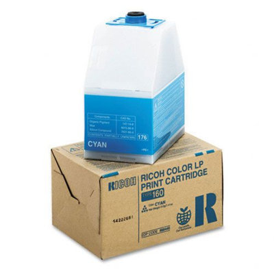 Ricoh Color LP Toner Cartridge - Laser - 10000 Page - Cyan