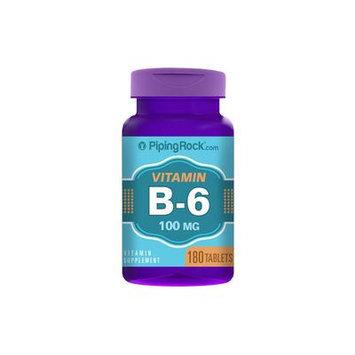 Vitamin B-6 100mg 180 Tablets