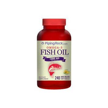 Omega-3 Fish Oil 1000mg 240 Softgels