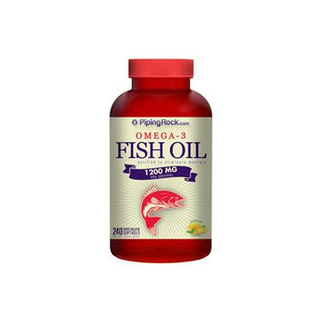 Omega-3 Fish Oil 1200mg 240 Softgels