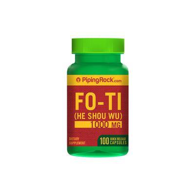 Fo-Ti Root 1000mg He-Shou-Wu 100 Capsules