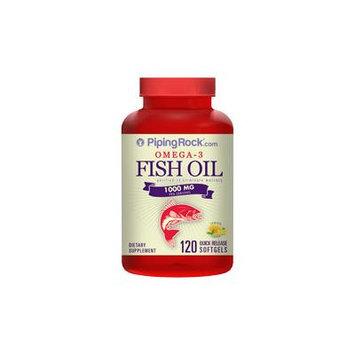 Omega-3 Fish Oil 1000mg 120 Softgels