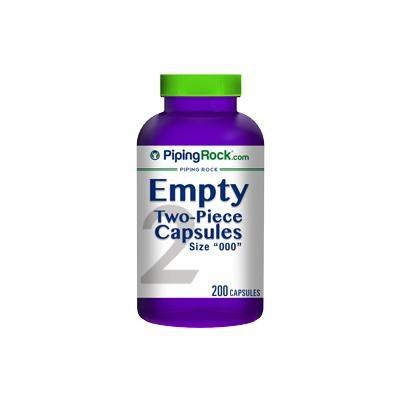 Empty Capsules Size