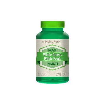 Whole Greens/Whole Foods Multi Vitamin 240 Coated Caplets