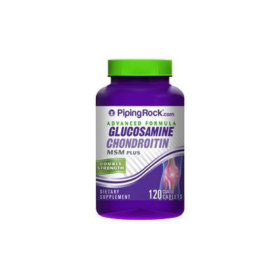 Glucosamine Chondroitin MSM Double Strength 120 Coated Caplets