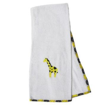 Pam Grace Creations Argyle Giraffe Bath Towel (Set of 2)