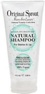 Original Sprout Natural Shampoo 4oz