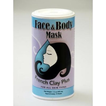 Muddy H2O Etc French Clay Natural Face & body Mask for All Skin 1.5 Oz
