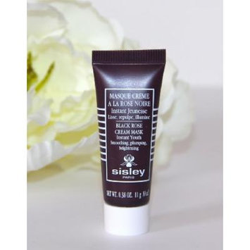 Sisley Paris Black Rose Cream Mask, Plumping Instant Youth, .38 oz (DLX Travel Size) NEW!