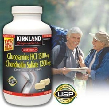 Kirkland Signature Extra Strength Glucosamine / Chondroitin 220 Tablets Each (Pack of 2)