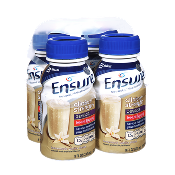 Ensure Clinical  Strength Revigor Homemade Vanilla Shake- 4 PK