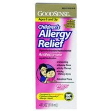 Good Sense Children's Allergy Relief Liquid Cherry -- 4 fl oz