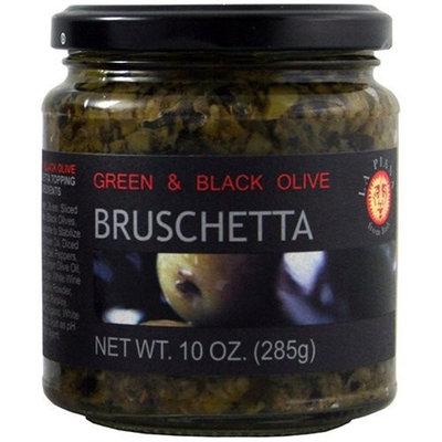 La Piana Green and Black Olive Bruschetta , 10 Oz