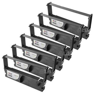 LD Epson Compatible Replacement 6 Pack Black POS Ribbon Cartridges - ERC-32B