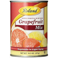 Roland Grapefruit Mix in Light Syrup, 14.5-Ounce Cans (Pack of 12)
