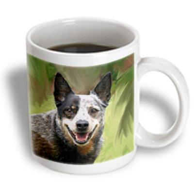 Recaro North 3dRose - Dogs Australian Cattle - Australian Cattle Dog - 15 oz mug